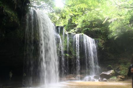 水のカーテン2