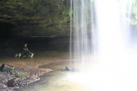 水のカーテン6
