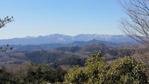 日和田山から