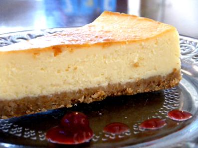『Yucca(ユッカ)』のチーズケーキ