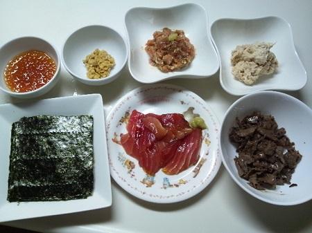 手巻き寿司 (4)