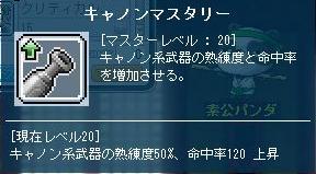 キャノンスキル020