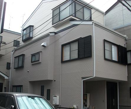 みらい住建 外壁塗装 源さん3号の現場施工後