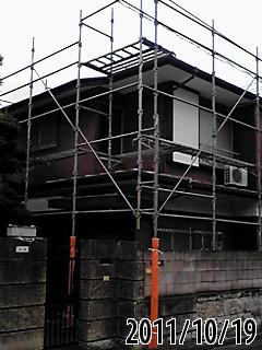 未来住建 棟板金修理足場組④