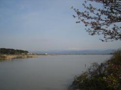 柴山潟と白山(縮小版)