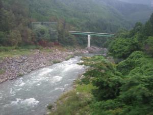 飛騨川渓谷