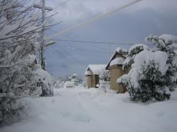 雪の加賀宿舎