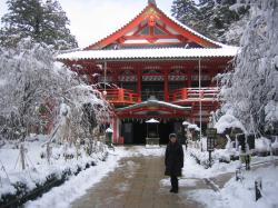 那谷寺赤い屋根