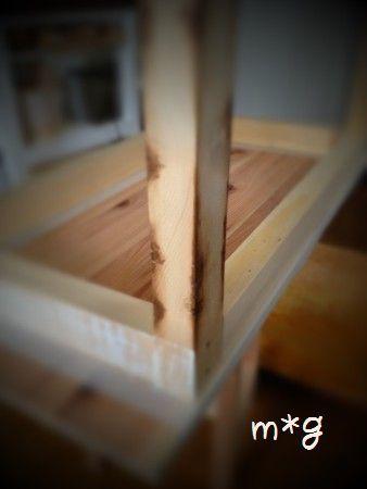テーブル塗装1