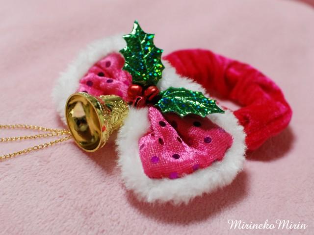 20121202クリスマス首輪