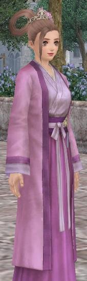 小袖背子と梅花簪01