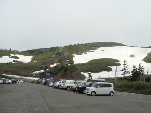 雪のある八幡平