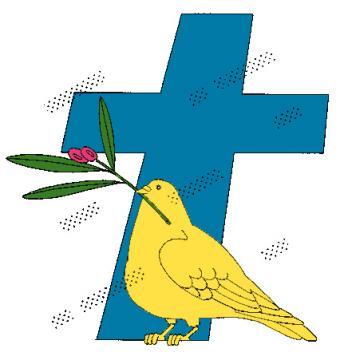 鳩と十字架