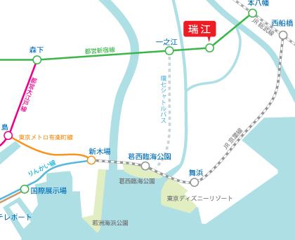 環七シャトル葛西臨海公園・TDR