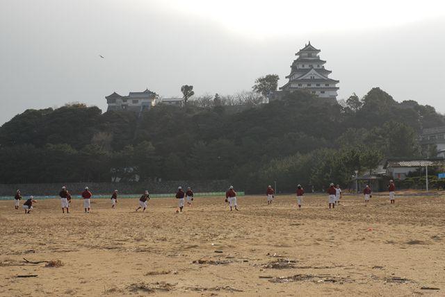 早稲田野球部練習風景