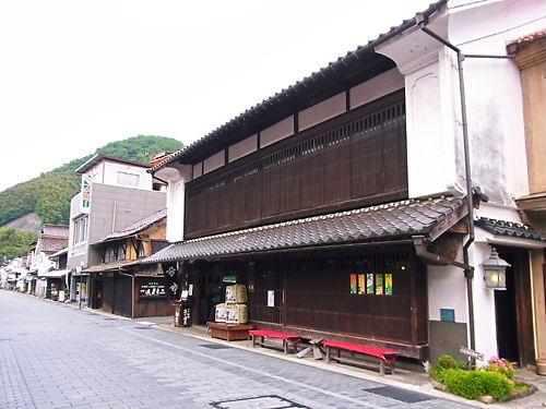 津和野の古い町並み
