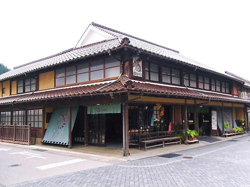 津和野の古い街並み