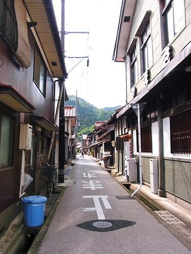 津和野の町並み