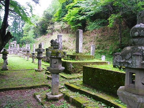 亀井家墓所
