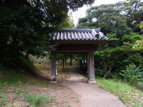 佐倉城の門