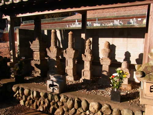 金子一族の墓所