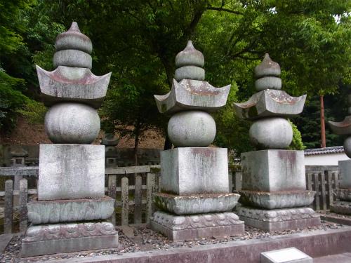 吉川広嘉の墓