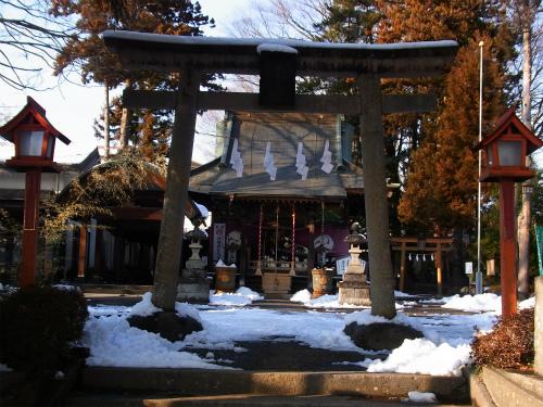 沼田榛名神社四の鳥居