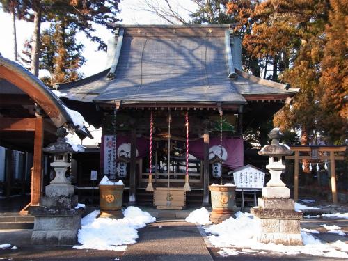 沼田榛名神社拝殿