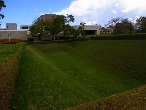 佐倉城の堀