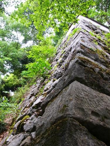 岩国城の石垣