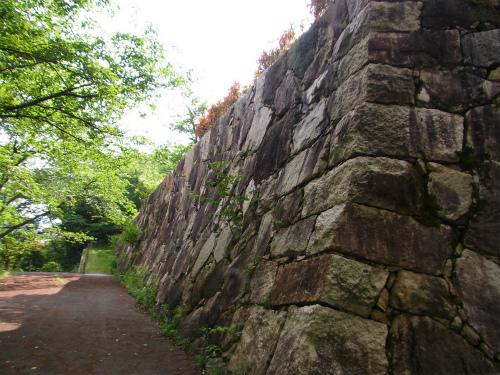 亀井城の石垣