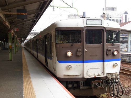 岩国駅ホーム