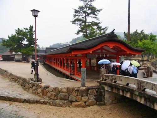 厳島神社出口