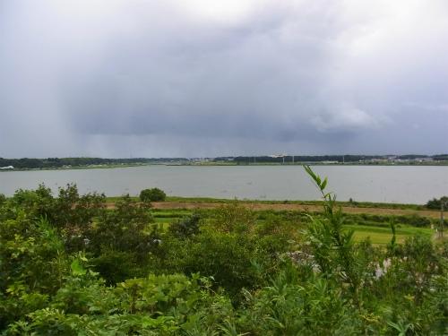師戸城から印旛沼