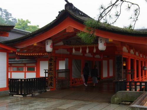 空いてる厳島神社