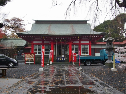 日和山の神社