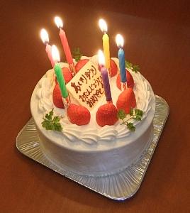 画像 75176歳ケーキ