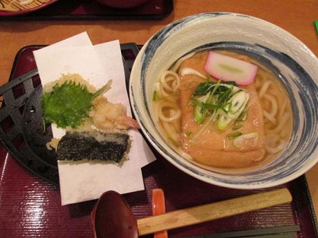 天ぷらうどん+揚げ
