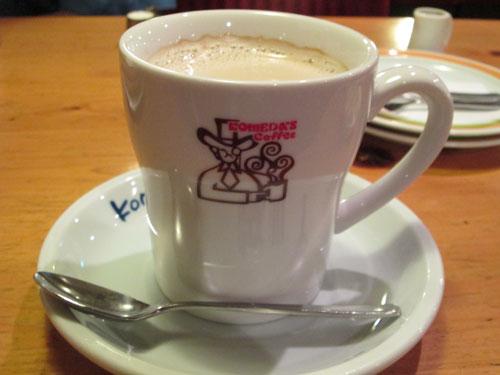 たっぷりミルクコーヒー