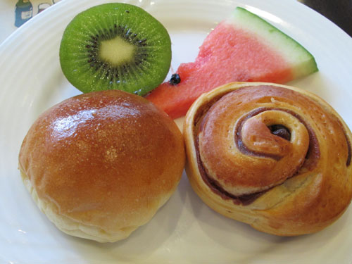 パン&フルーツ