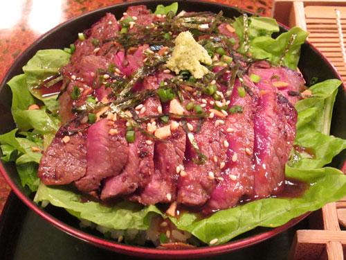 ビフテキ丼2