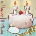 おじいちゃんの誕生日ケーキ(11月26日)