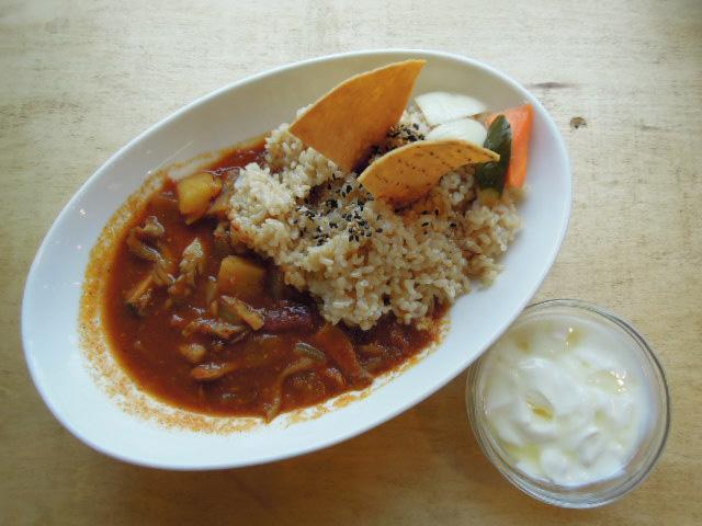 玄米カレーきのこサツマイモblog用