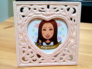 女性のプレゼント用似顔絵イラスト