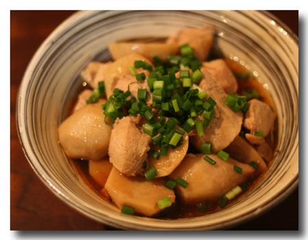 里芋と鶏の煮物