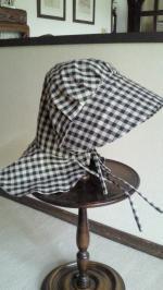 2013Sep農家のおばちゃん帽子