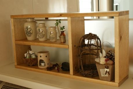雑貨飾り棚