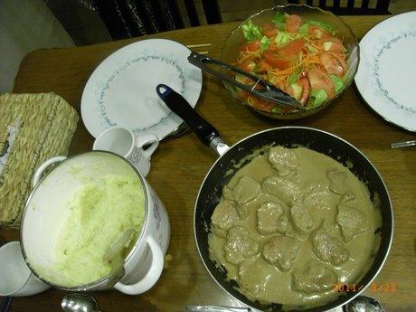 スゥエーデン料理