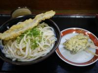 かけ3玉と天ぷら2つ