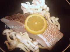 110826鯛とレタスのレモン蒸し-1
